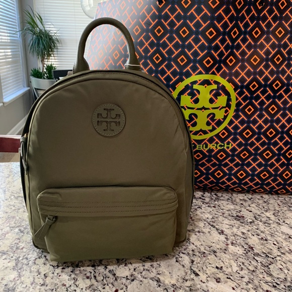 664987d517c6 NWT Authentic Tory Burch Nylon Backpack